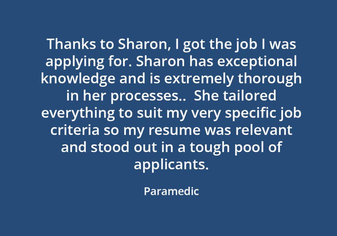 Sharon Testimonial 2